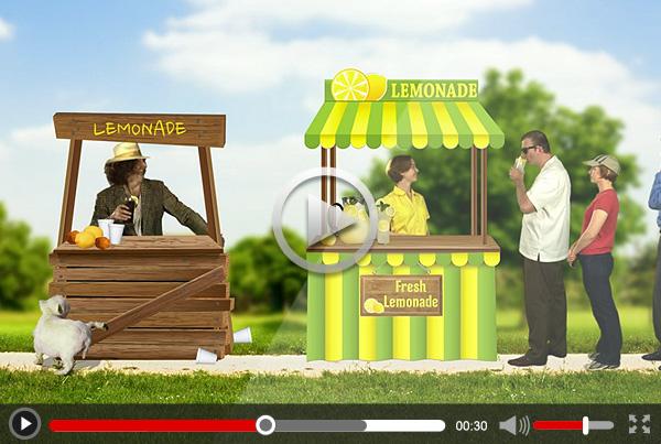 "Create 180 Design ""Lemonade"" 15 sec Marketing Video"