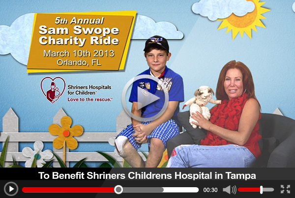 "Sam Swope ""Charity Ride"" 30 sec TV Commercial"