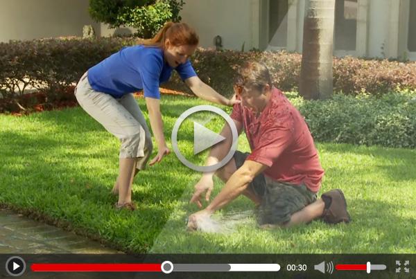 """Sta-Up Sprinkler Clamp """"DRTV"""" 60 sec TV Commercial"""