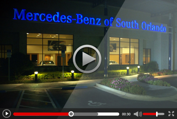 "Mercedes-Benz of South Orlando ""Holiday Magic"" 30 sec TV Commercial"